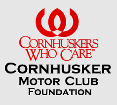 Cornhuskers Who Care Cornhuskers Motor Club Foundation logo